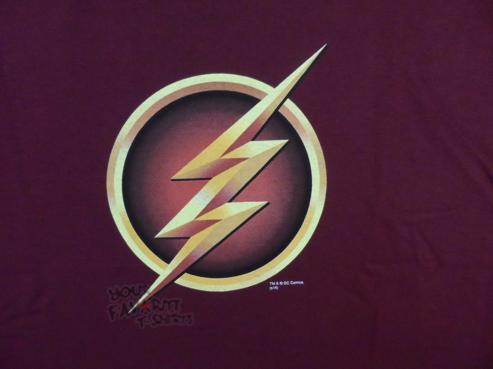 the flash tv show logo symbol cw dc comics premium. Black Bedroom Furniture Sets. Home Design Ideas
