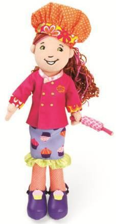 Groovy Girls Chef Charlotte Plush Dancer Doll
