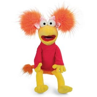 Fraggle Rock Red Jim Henson Muppets Girl Plush Toy