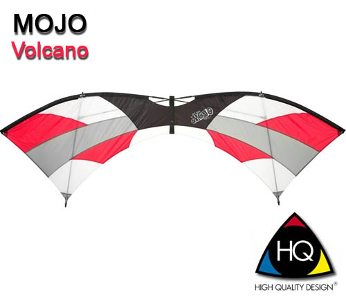 HQ Mojo Volcano Quad Line Kite L not Revolution Kite L Fast ...