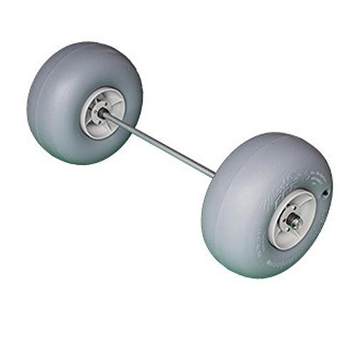 Wheel Axle Kits : Wheeleez wheel axle kit with polyurethane tires l