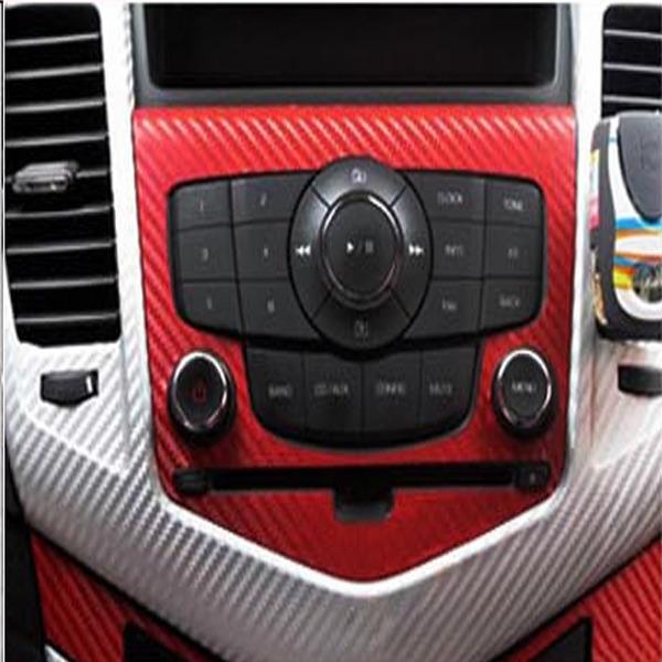 """Universal Auto Motor Carbon Folie 3D Struktur ROT""""24 60 ..."""