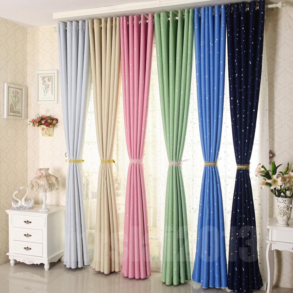 couleur toile rideau occultant et isolant 140x230 cm ebay. Black Bedroom Furniture Sets. Home Design Ideas