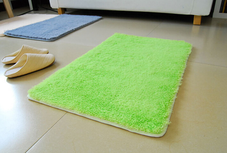 40 60cm vorleger rutschfest badteppich warm teppich schlafzimmer badezimmer ebay. Black Bedroom Furniture Sets. Home Design Ideas