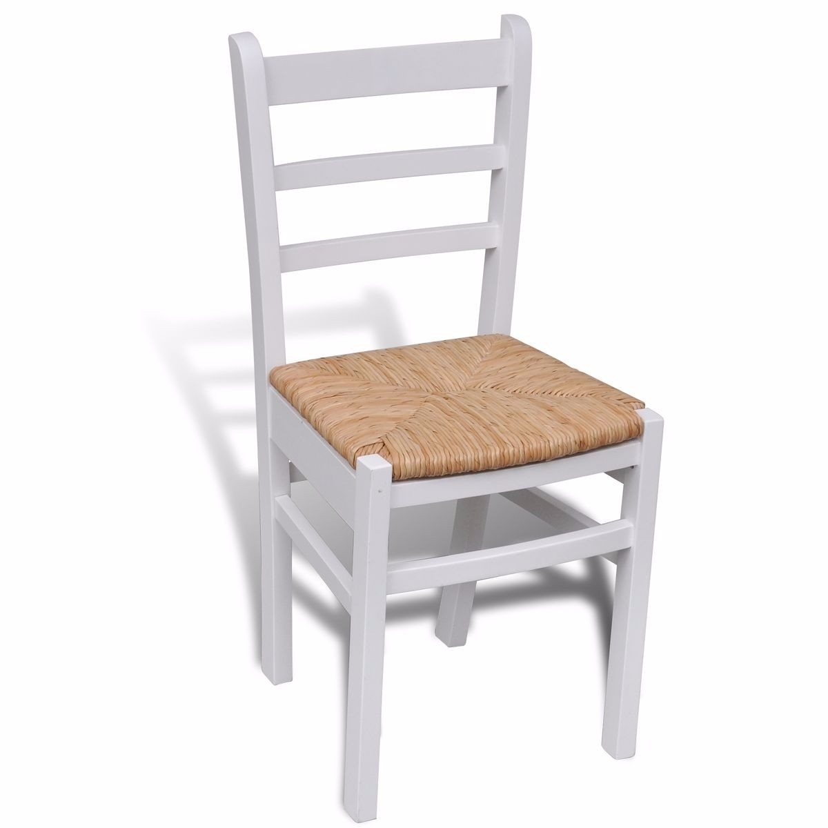 wooden dining chairs kitchen white solid pine dining room furniture