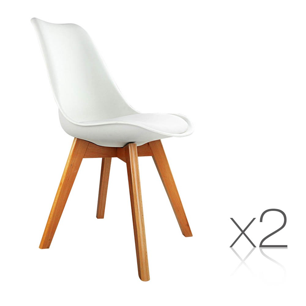 replica eames eiffel dsw dining chairs cafe kitchen beech white ebay