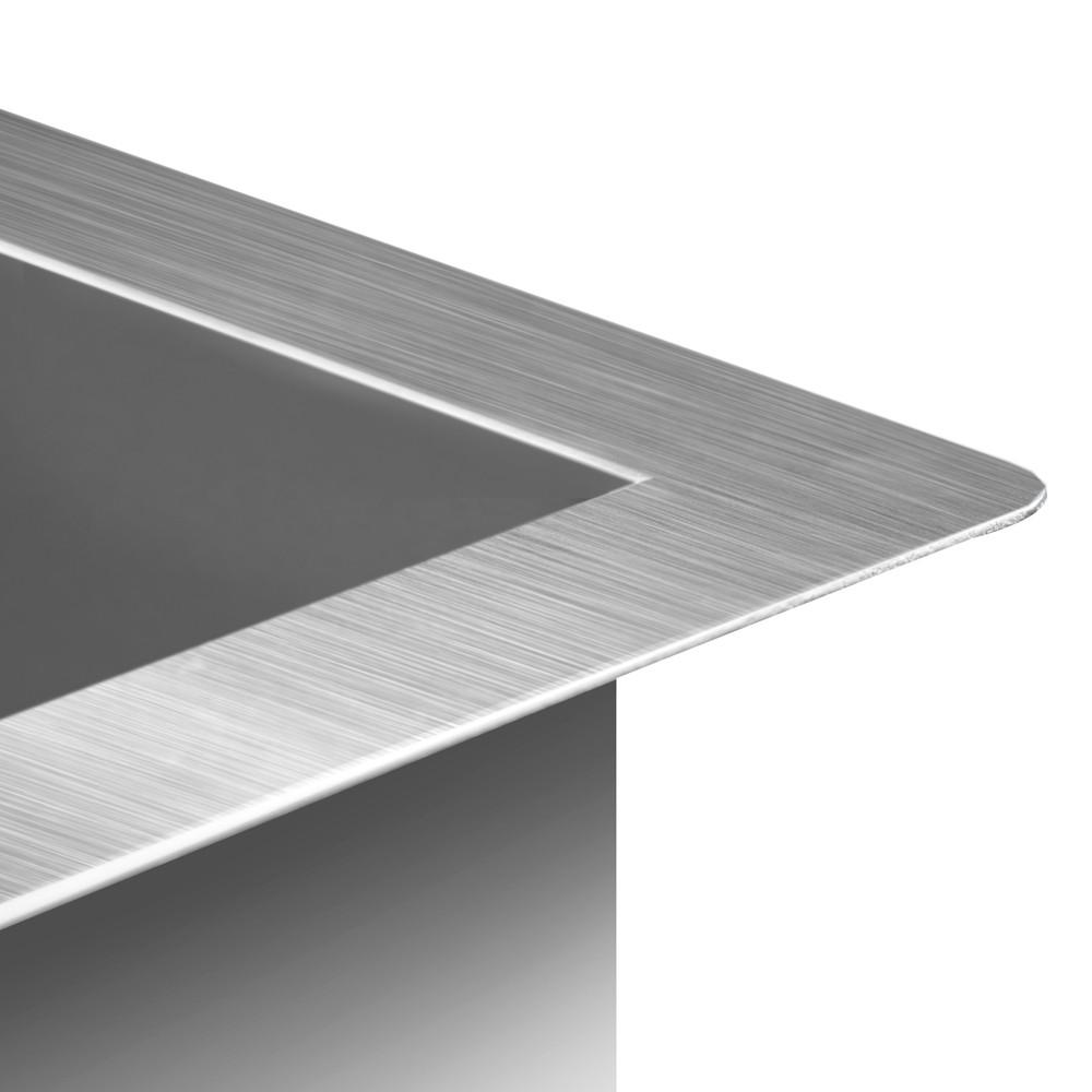 ... Stainless Steel Undermount Topmount Kitchen Laundry Sink eBay
