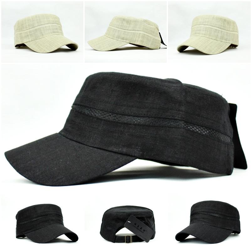 cool mesh panel army caps hats black or beige ebay