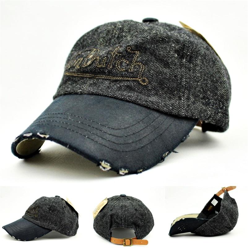 von dutch distressed peak vintage caps hats charcoal ebay. Black Bedroom Furniture Sets. Home Design Ideas