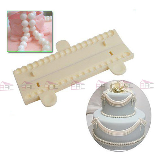 Cake Decorating Pearl Balls : Fondant Pearl Cutter Sugarcraft Cake Tools Balls ...