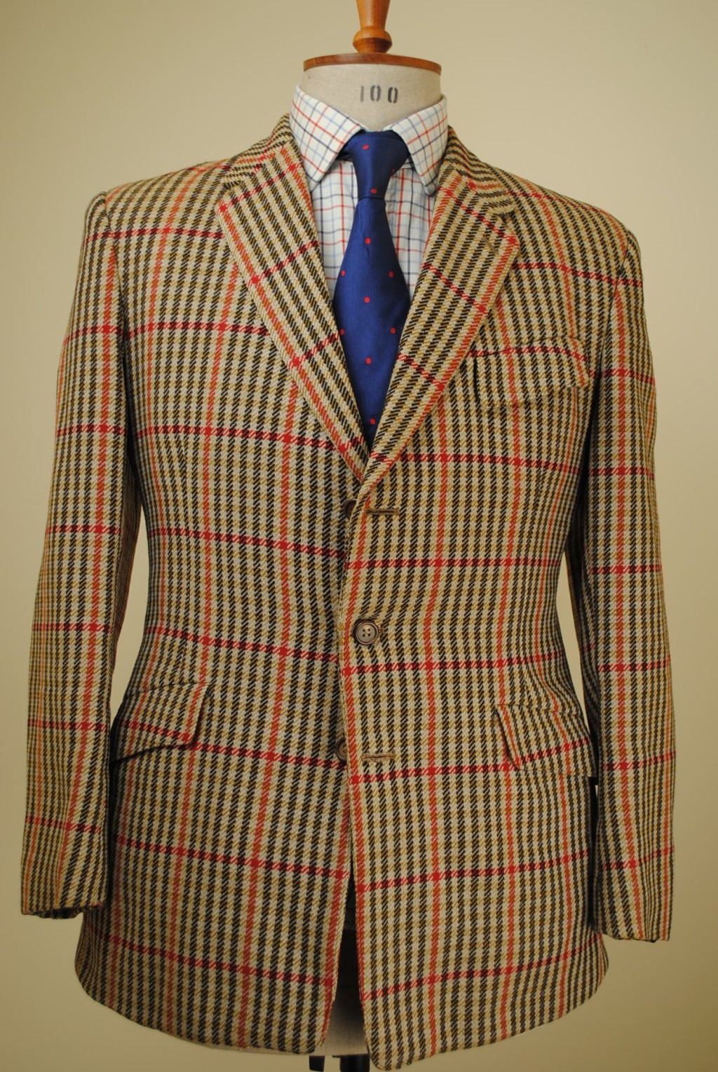 Beautiful Vintage Huntsman Tweed Jacket Styleforum