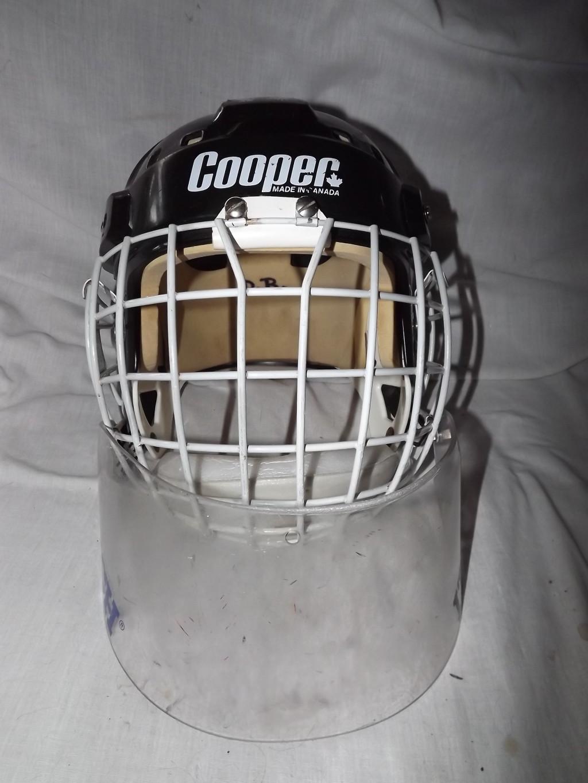Vintage Hockey Goalie Helmet Cooper Sk2000 Cooper Gl 100 Cage