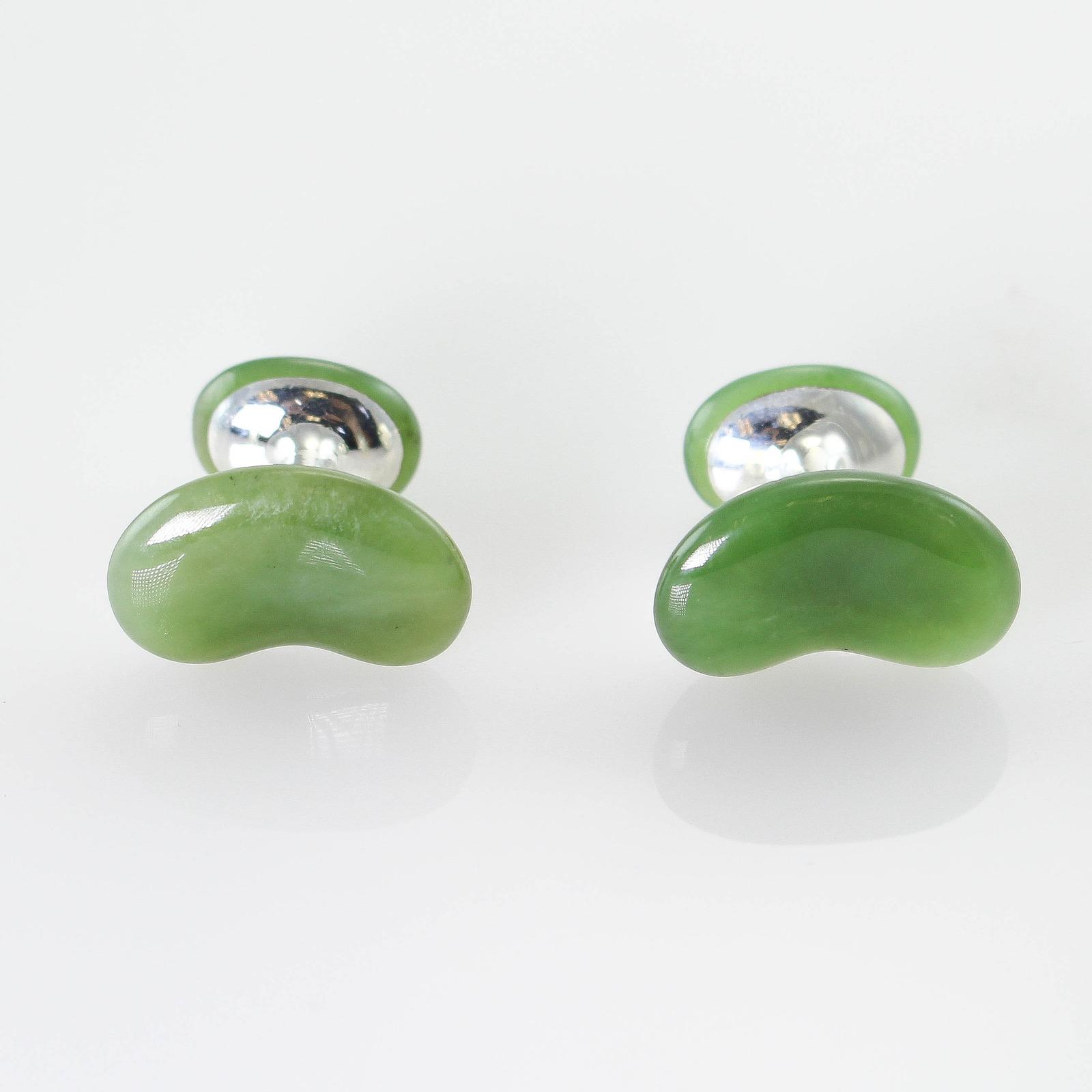 Tiffany Jade Earrings