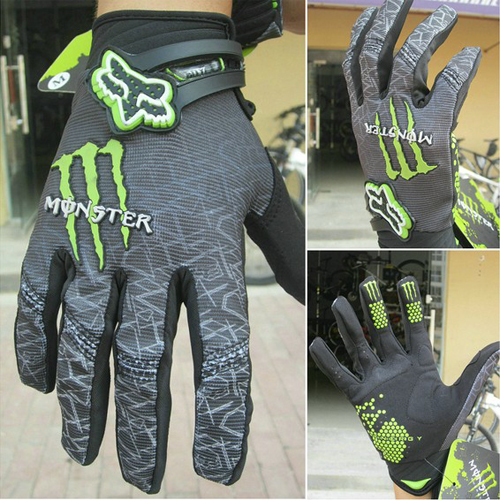 Outdoor-Sports-Motorcycle-Cycling-Bike-Monster-Bicycle-Full-Finger-Gloves-M-XL