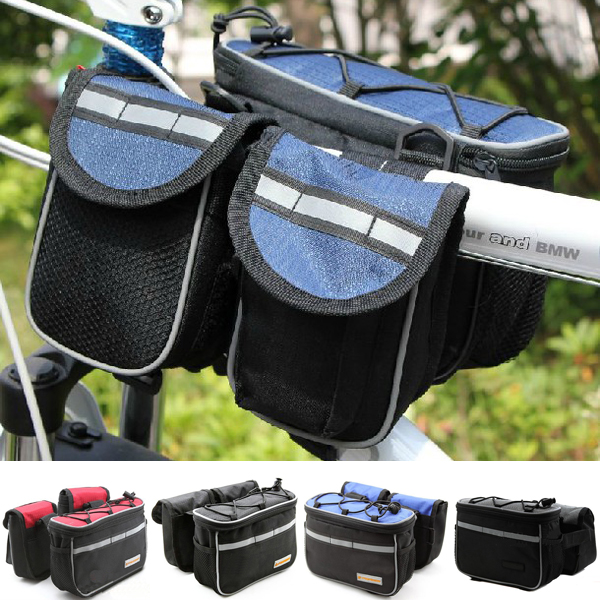 Cycling-Bike-Bicycle-Multifunction-Front-Frame-Tube-Bag-Handlebar-Bag-Pannier