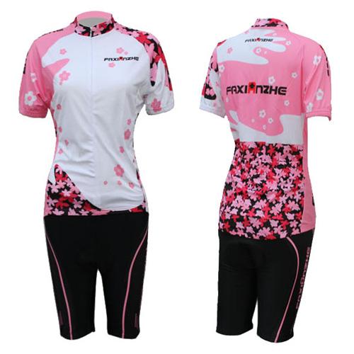 Women-Bike-Cycling-Clothing-Bicycle-Short-Sleeve-Sportswear-jacket-pants-suit