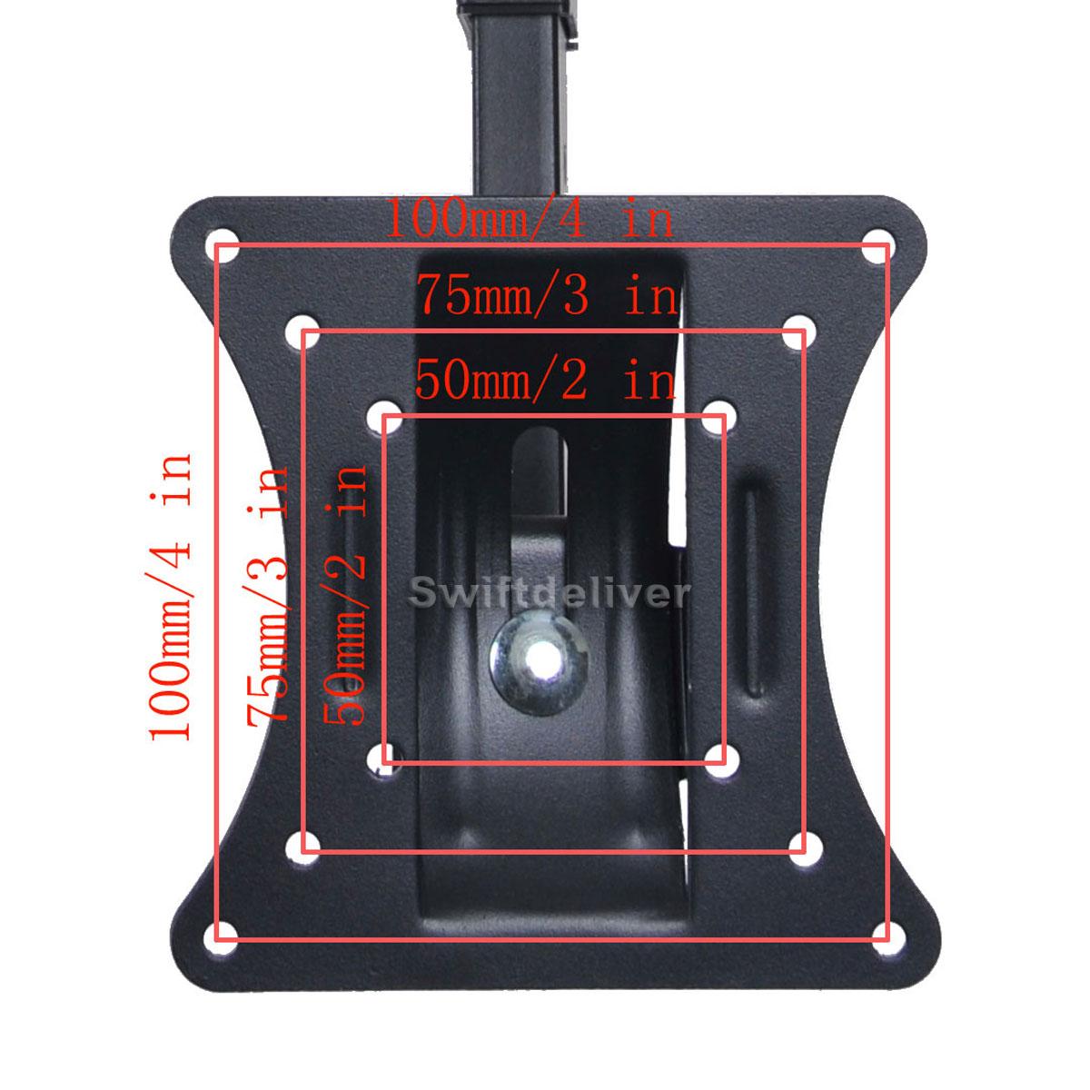 Tilt Swivel LCD LED Monitor TV Wall Ceiling Mount 15 17 19 20 22 23 24 26 27 CYB