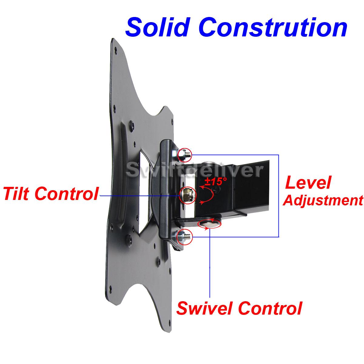 Articulating Tilt Swivel TV Monitor Wall Mount LCD LED22 23 24 26 32 37 40 42CY8