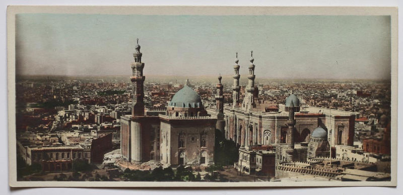 Egypt tinted cairo panorama ebay for Cairo versand