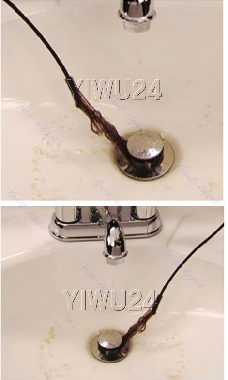 2 Pcs Unclog Hair Sink Tub Drain Brush Snake Fixed Fast Removal Cleaner Tool Ebay