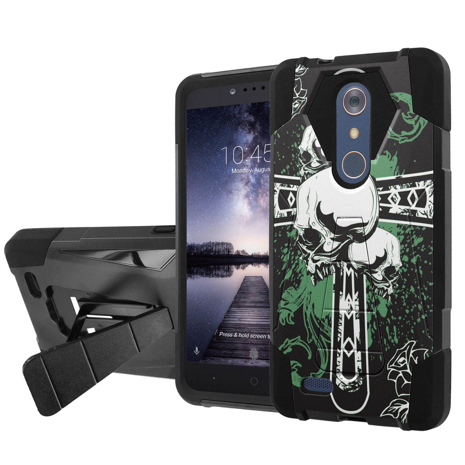 markus zte zmax pro case with kickstand people feel