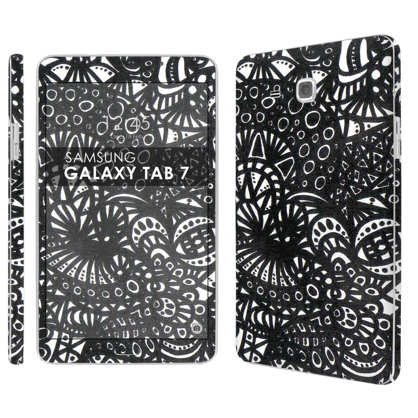 "Skin Decal For Samsung Galaxy Tab A [7 0"" Screen] [Matching"