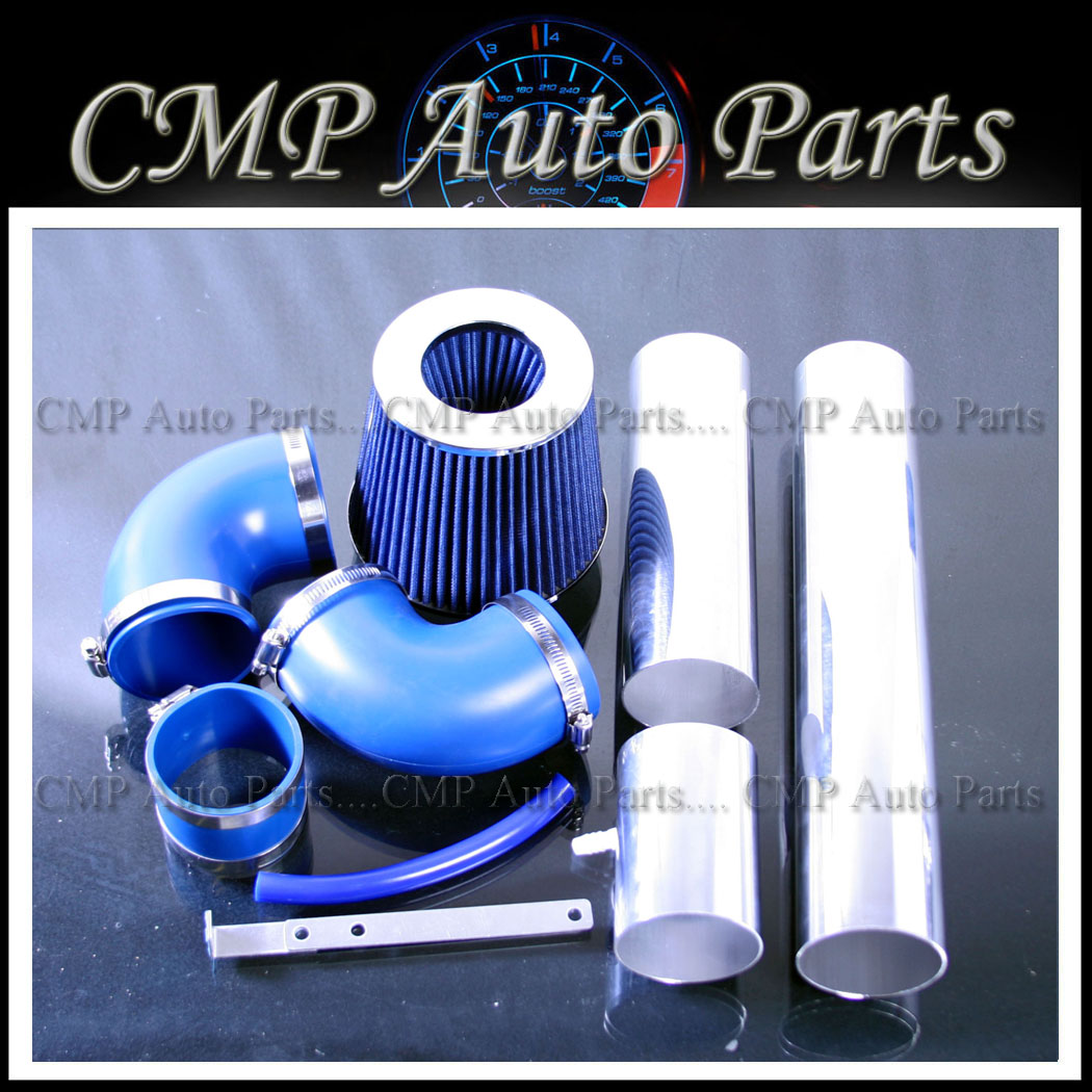 Pontiac Firebird Chevy Camaro 3 4L V6 Cold Air Intake Kit Systems 1993 1995 Blue
