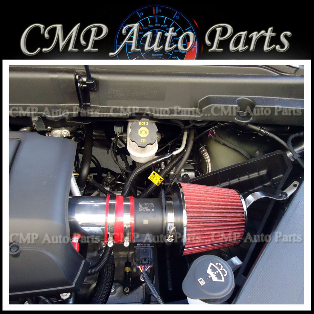 Buick Enclave Accessories 2011: RED 2007-2011 BUICK Enclave CX CXL 3.6 3.6L V6 AIR INTAKE