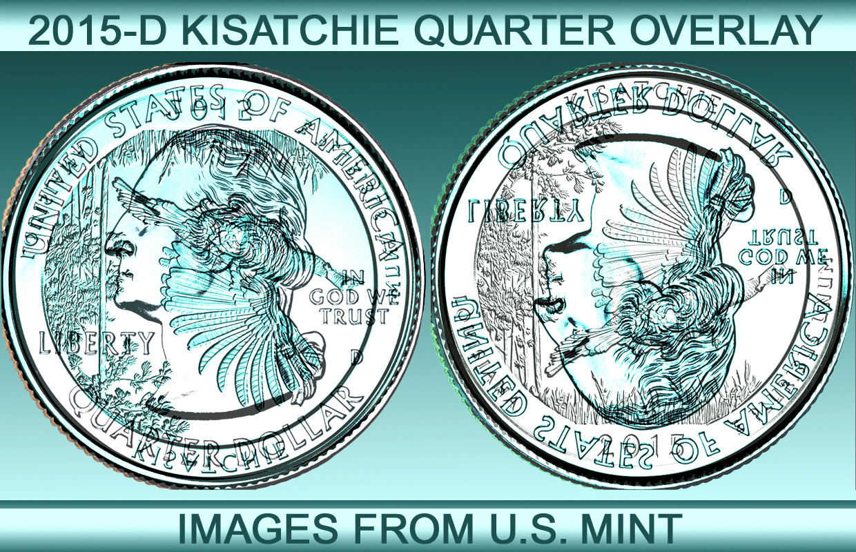 New state quarters 2015 - Here Are The Overlays For This Quarter