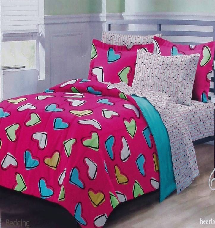 Cpink Comforter Full Size Bed