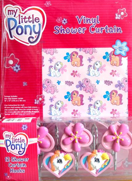 description new in original packaging my little pony shower curtain