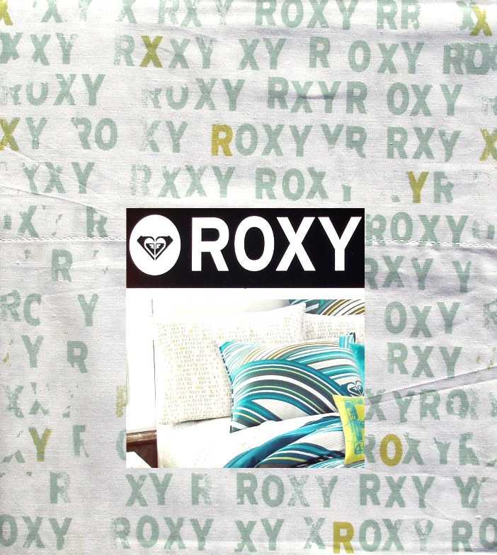 Quiksilver Roxy Logo Cami Green White 3pc Twin Xl Sheets