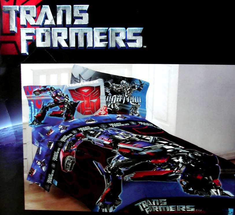 Details about ,TRANSFORMERS FULL COMFORTER SHEETS 7PC BEDDING SET NEW