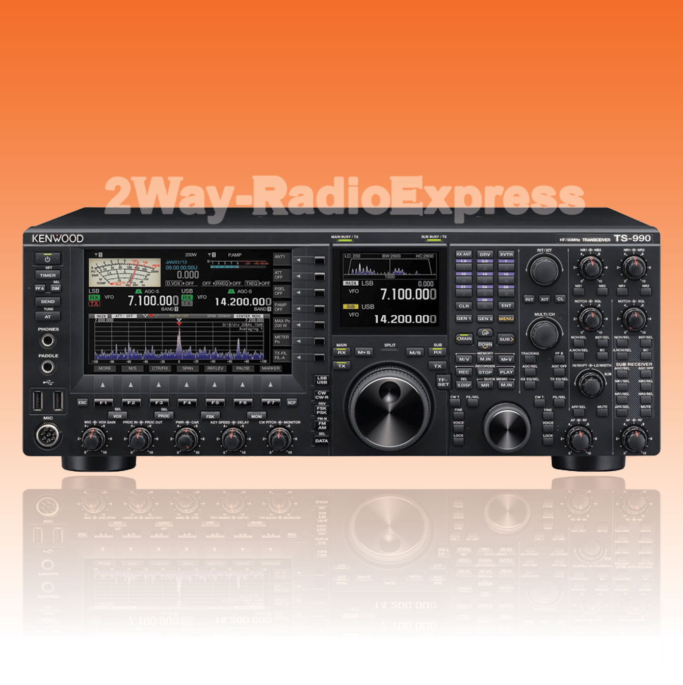 KENWOOD-TS-990S-HF-50MHz-Tranceiver-200-Watt-Large-UNBLOCKED-TX-RANGE