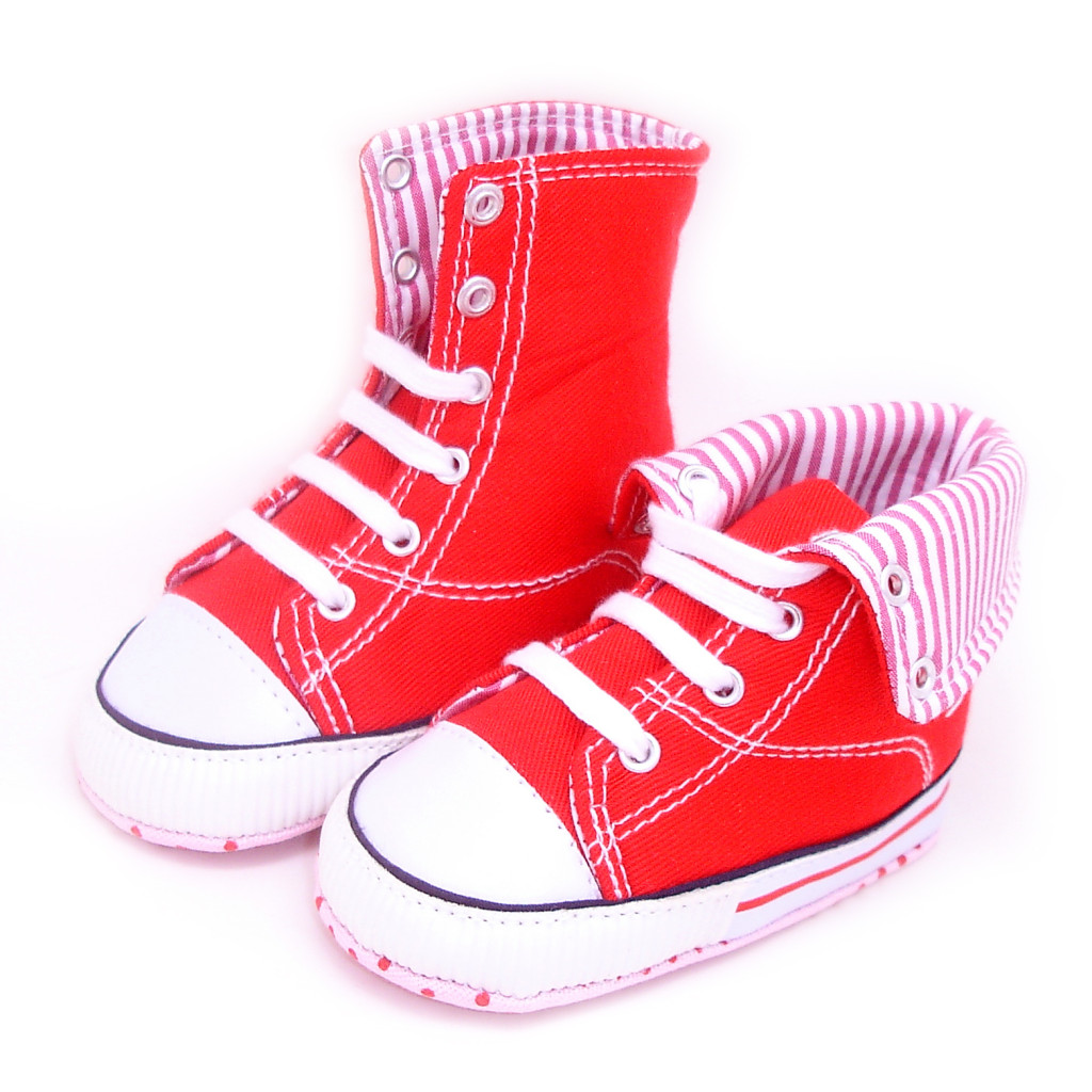 Toddler Infant Baby Boy Girls shoes Sneaker canvas Hiking Boots Soft