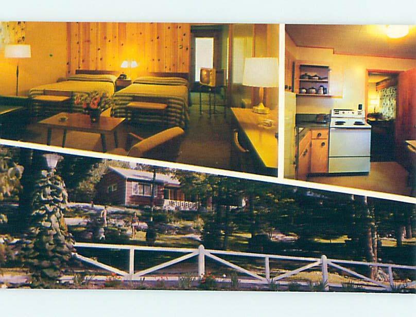 Pre-1980 MOTEL SCENE Brewster New York NY hk1121