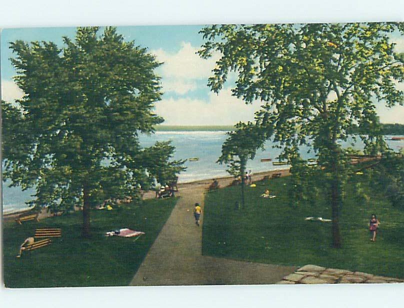 Pre-1980 WATER SCENE Finger Lakes - Seneca Falls New York NY hk2247