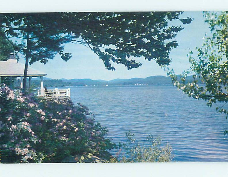 Pre-1980 WATER SCENE Adirondacks - Lake Pleasant New York NY hk2445