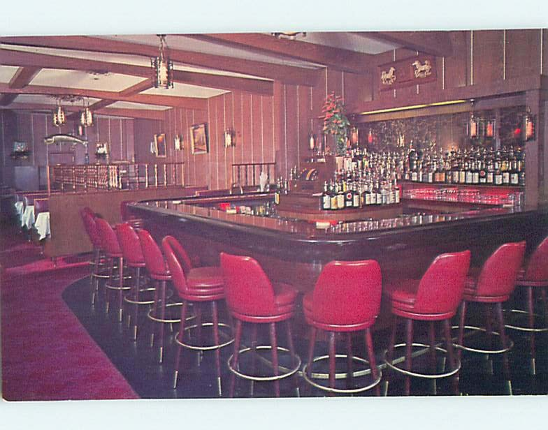 Unused Pre-1980 RESTAURANT SCENE Long Island - Jamaica New York NY hk4271