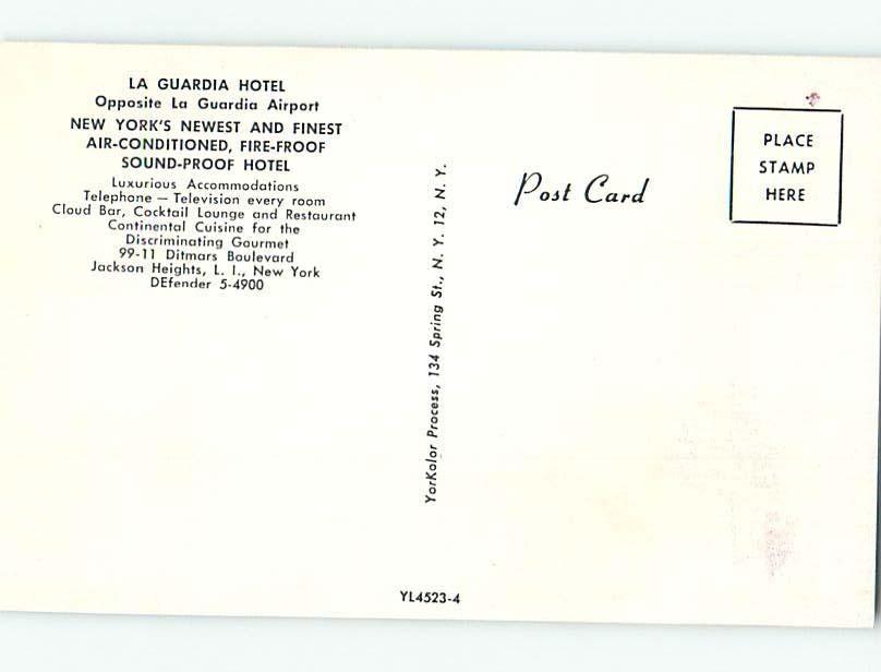 Pre-1980 RESTAURANT SCENE Long Island - Jackson Heights New York NY hk4860