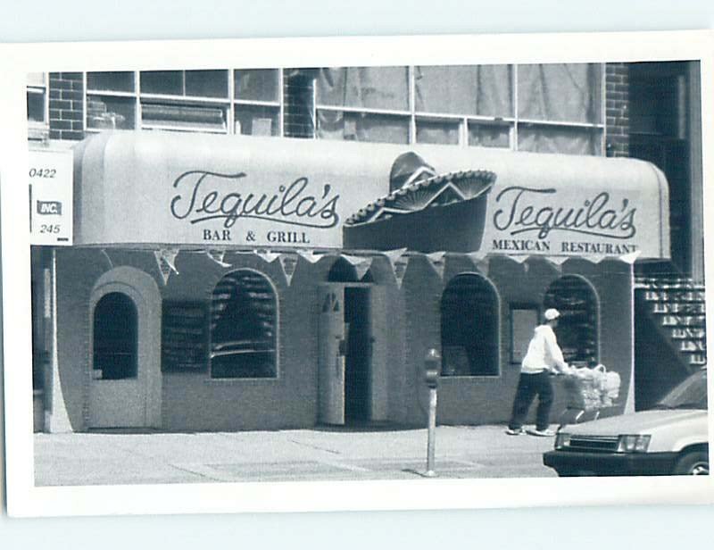 Old rppc TEQUILA MEXICAN BAR AND GRILL New York City NY HM4102