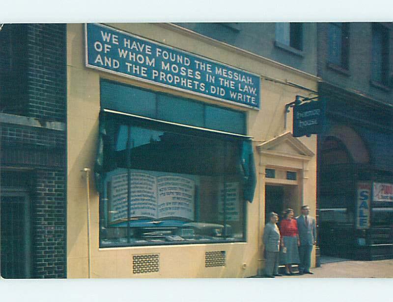 Pre-1980 Religious NY MESSIANIC WITNESS - JEWISH JUDAISM New York City NY hn0337