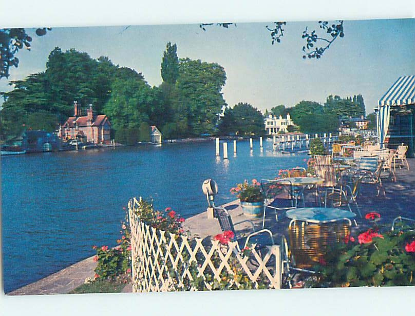 Pre-1980 COMPLEAT ANGLER HOTEL Marlow Wycombe - South Buckinghamshire Uk hn2779