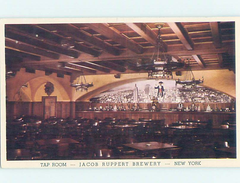 1930's Ruppert Brewery OWNER OF YANKEES BASEBALL TEAM New York City NY hn5992