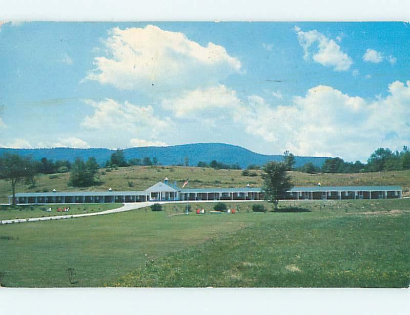 Pre-1980 DARLING KELLY MOTEL Bennington Vermont VT M2028
