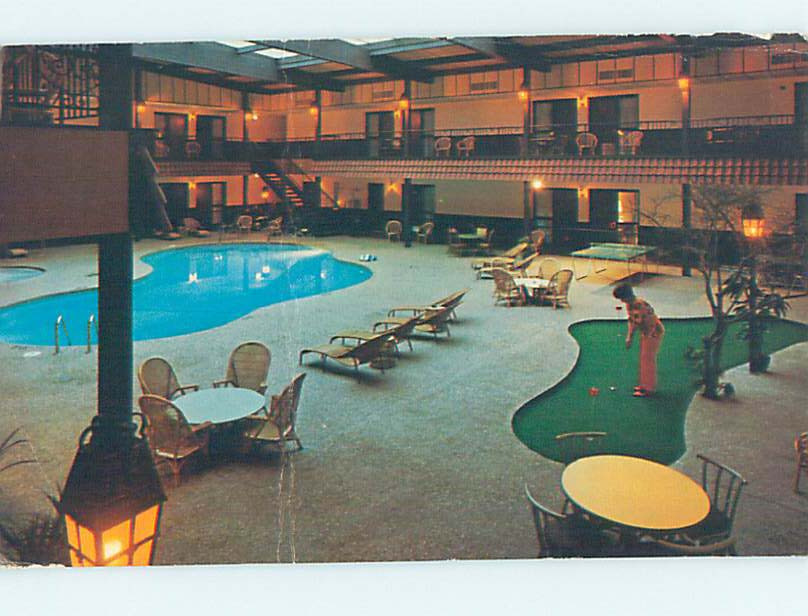 Damaged Pre-1980 DOWNTOWNER MOTEL Green Bay Wisconsin WI M4667