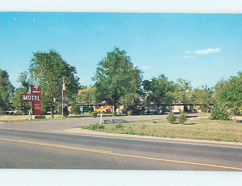 Damaged Four Winds Motel At Devils Lake Wisconsin Dells Wisconsin WI M4726