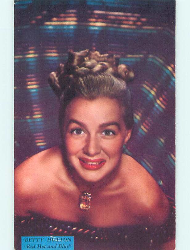 Unused 1949 original ACTRESS BETTY HUTTON LOOKING SEXY v4896