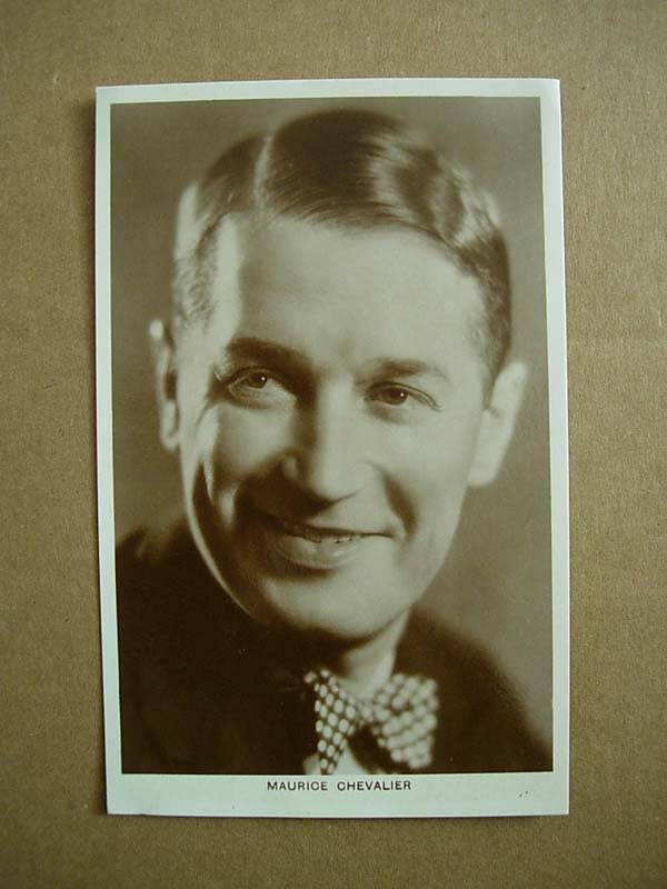 Maurice Chevalier Vintage Original Real Photograph z0853-22