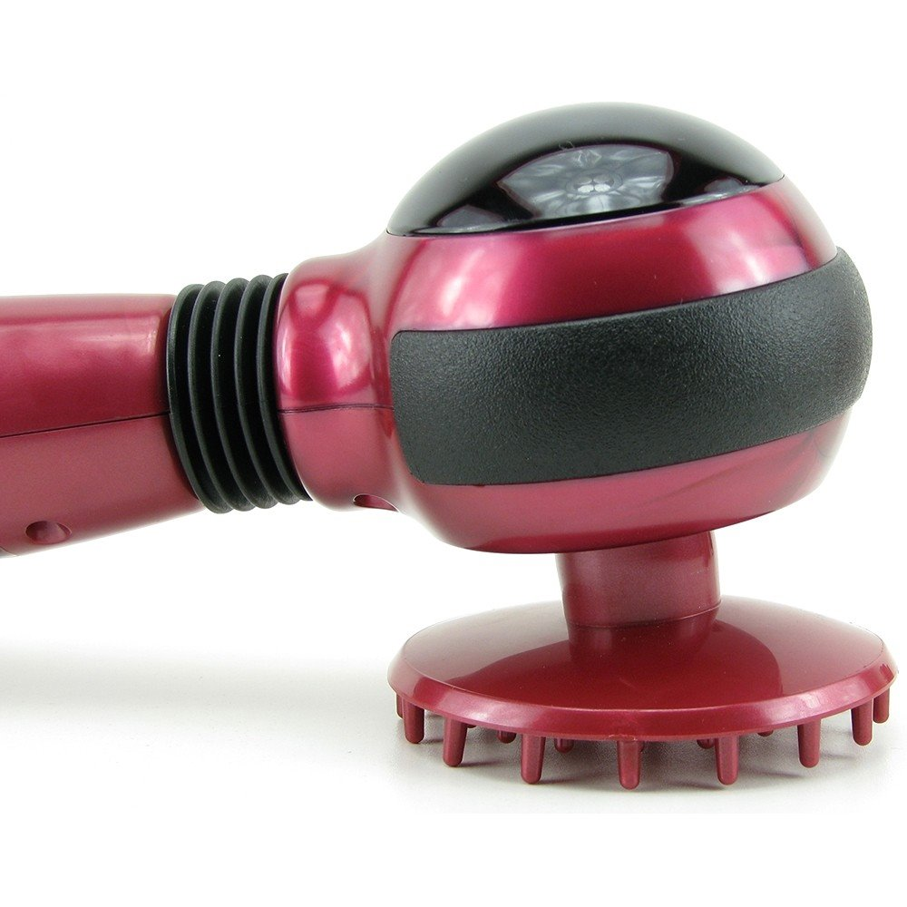 how to use hand held infrared massager